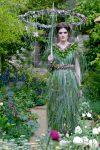 Zita Ekze's floral dress